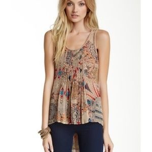Doe & Rae Nordstrom Braided Tribal Tank Top